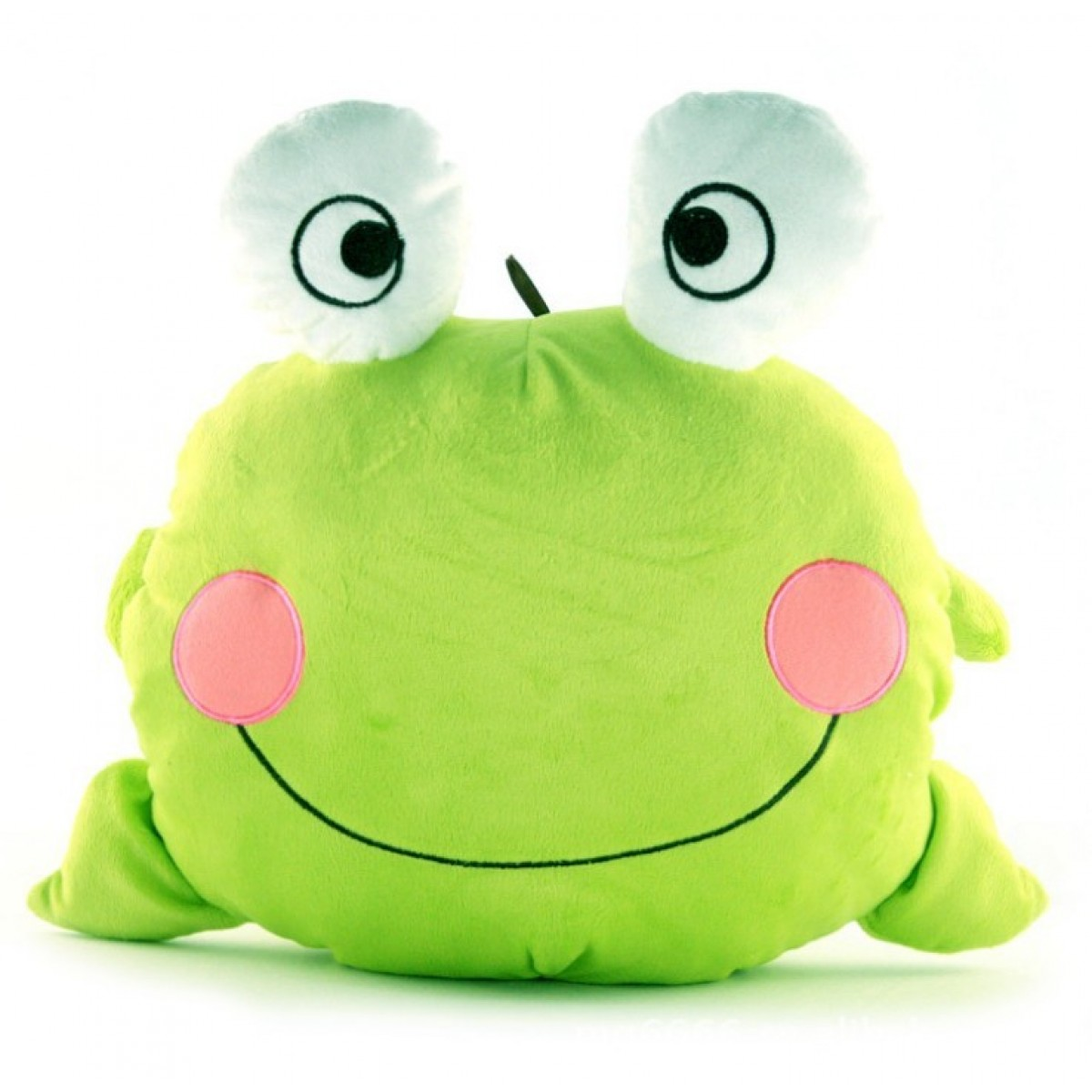 Cheap Cute Amp Novel Cartoon Frog Hand Warm Stuffed Pillow