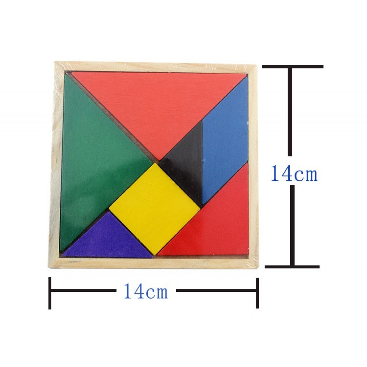 Cheap Tangram Colored Wooden Jigsaw Puzzle Sale Online with Free ...
