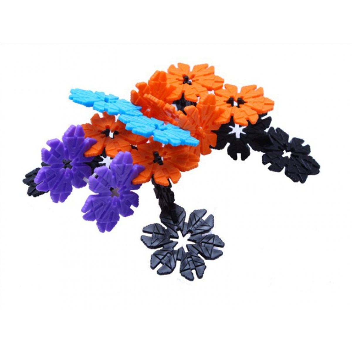 Cheap 320 Pcs Flower Building Blocks Toy Sale Online With Free