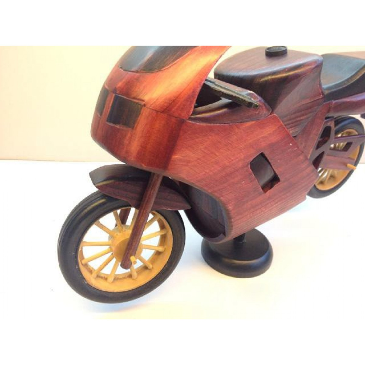 Handmade Wooden Decorative Home Accessory Vintage Motorcycle Classic ...