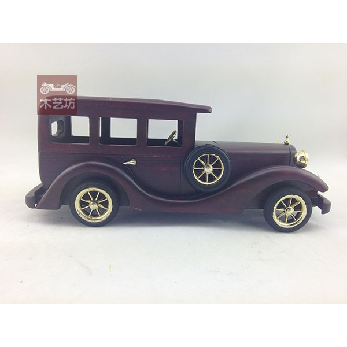 Cheap Handmade Wooden Decorative Home Accessory Red Car Vintage Car ...