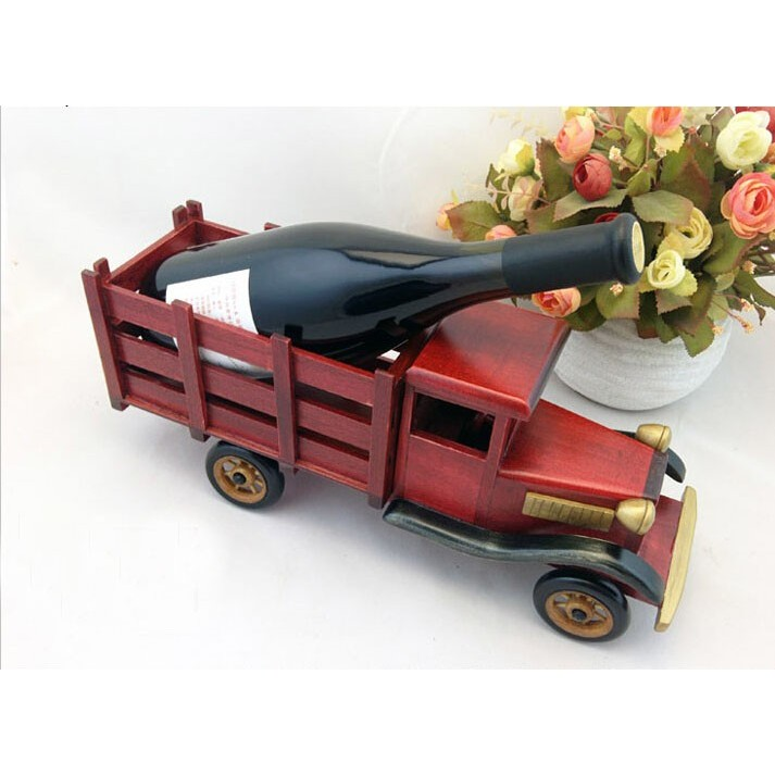 Handmade Toy Car Holder : Cheap handmade wooden home decoration truck vintage car